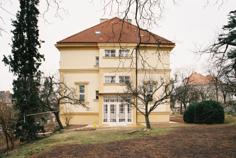 Renovation of a villa in Prague – Ořechovka