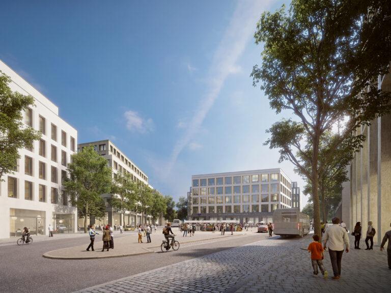 New Písnice square