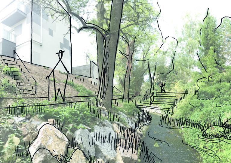 Urban study of Tuchoměřice – Kněžívka